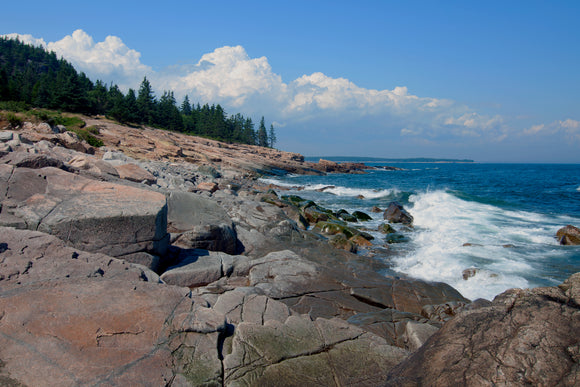 Blueberry Hill at Maine's Schoodic Peninsula