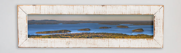 Porcupine Islands Framed Panorama