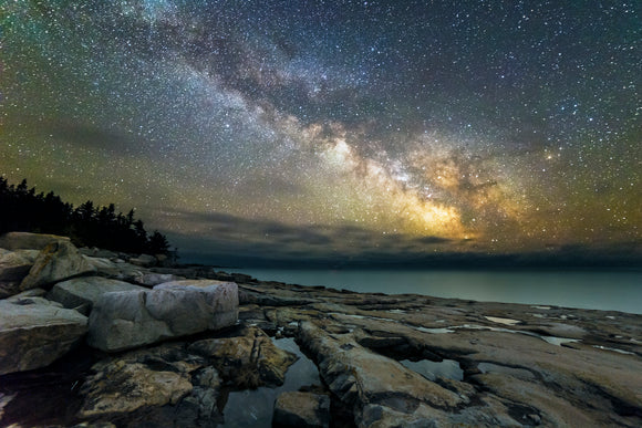 Schoodic Point Milky Way