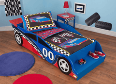 KidKraft Car Bed with Duvet