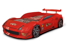 Speedster Avenger red race car bed