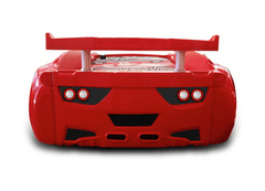 Speedster Avenger red car bed back