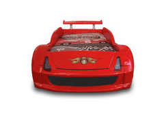 Speedster Avenger red car bed front