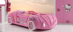 Speedster Buttercup pink car bed