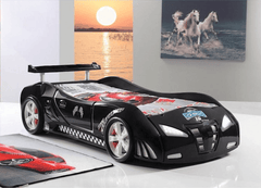 Speedster Ventura black car bedroom theme