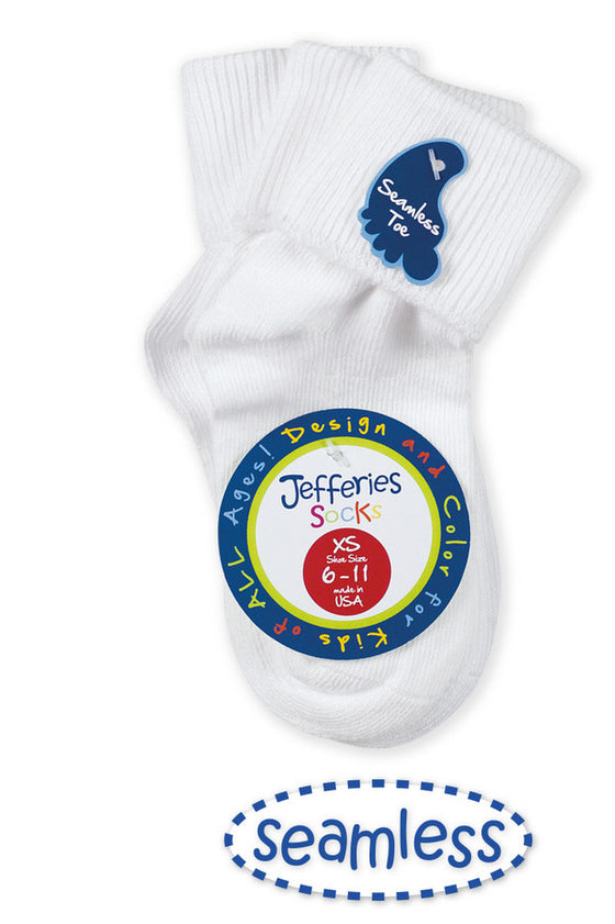 Socks Seamless Toe 3 Pack
