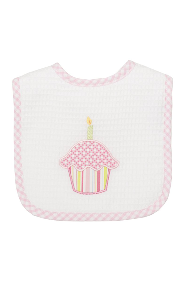 Birthday Feeding Bib - Pink