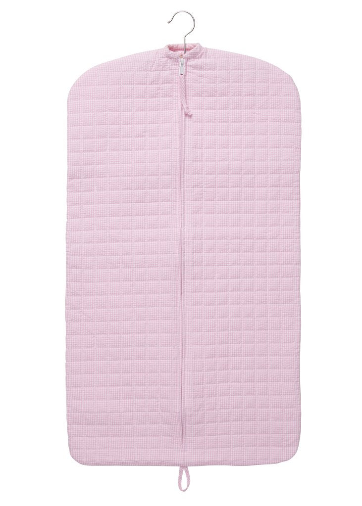 Light Pink Quilted Luggage
