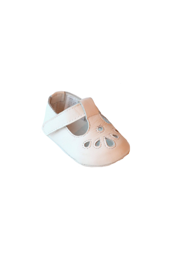Angel Crib Shoe Girl White