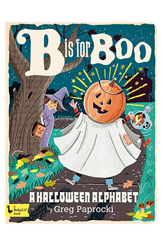 B is for Boo - Halloween Alphabet