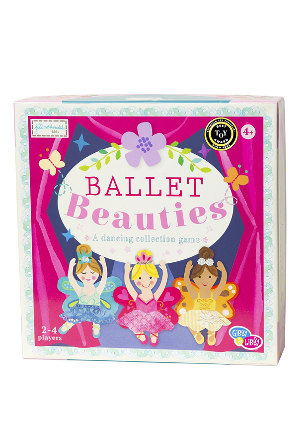 Ballet Beauties Paper-Based Board Game