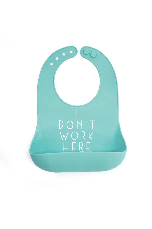 Work Here Wonder Bib