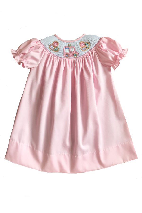Donut Poppy Smocked Dress