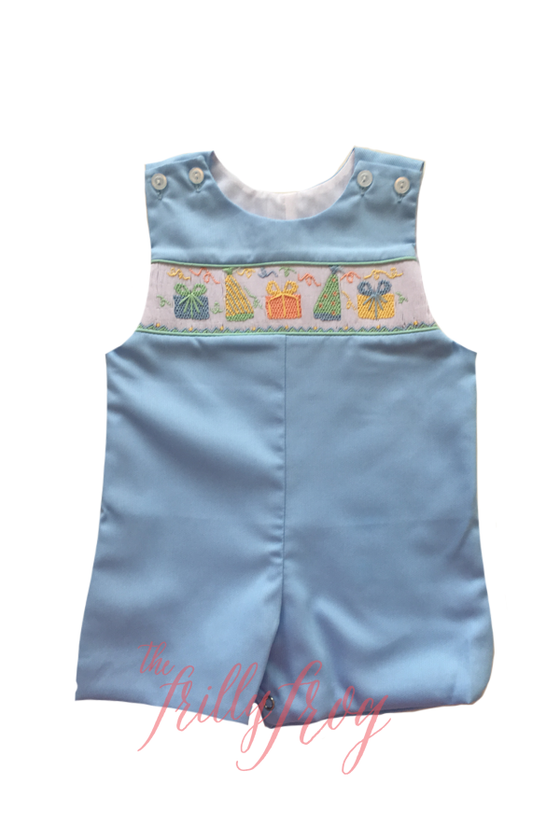 P is for Party Tate Smocked Shortall