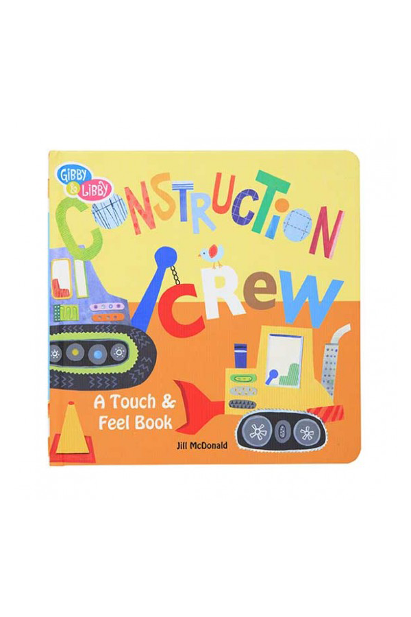 Construction Textured Board Book