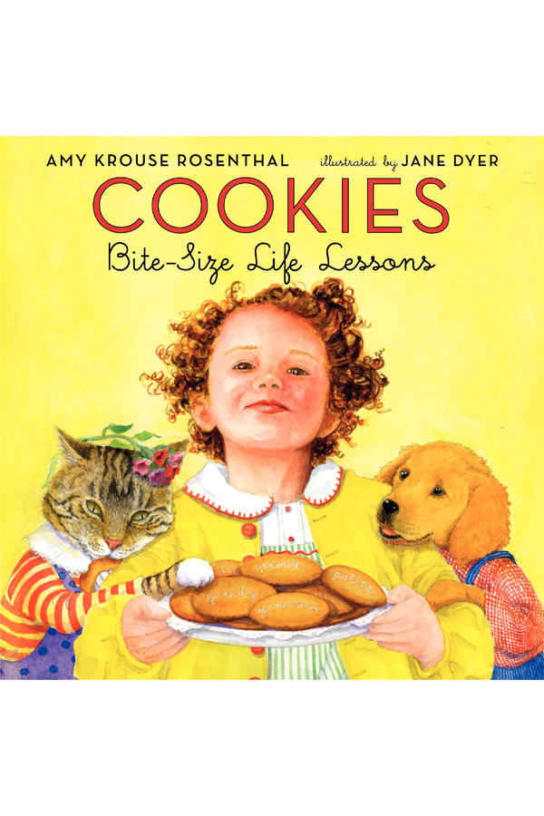 Cookies Board Book: Bite-Size Life Lessons