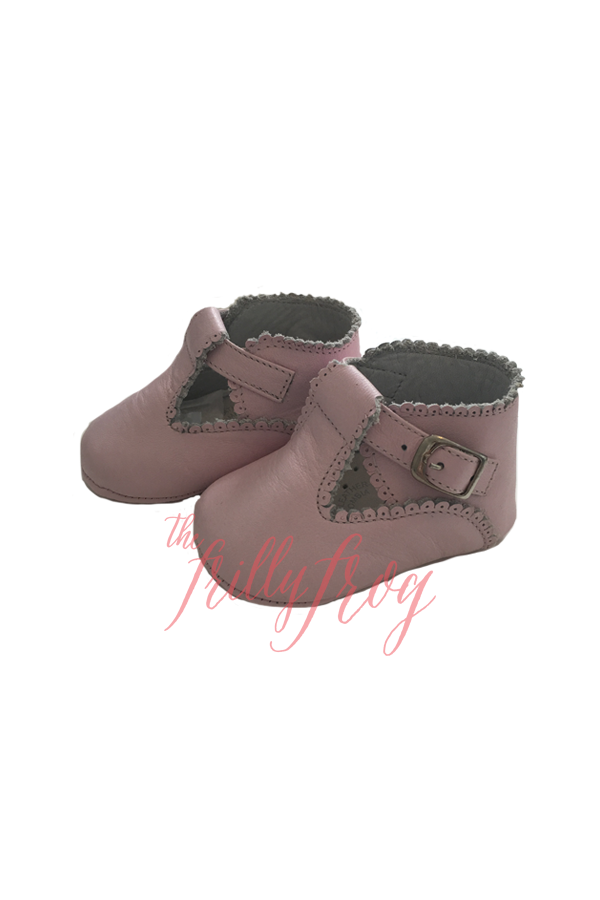 Wills Baby Shoes - Light Pink
