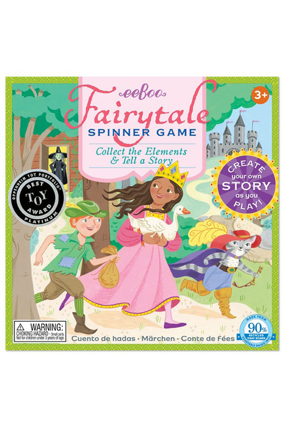 Fairy Tale Spin-to-Play Game