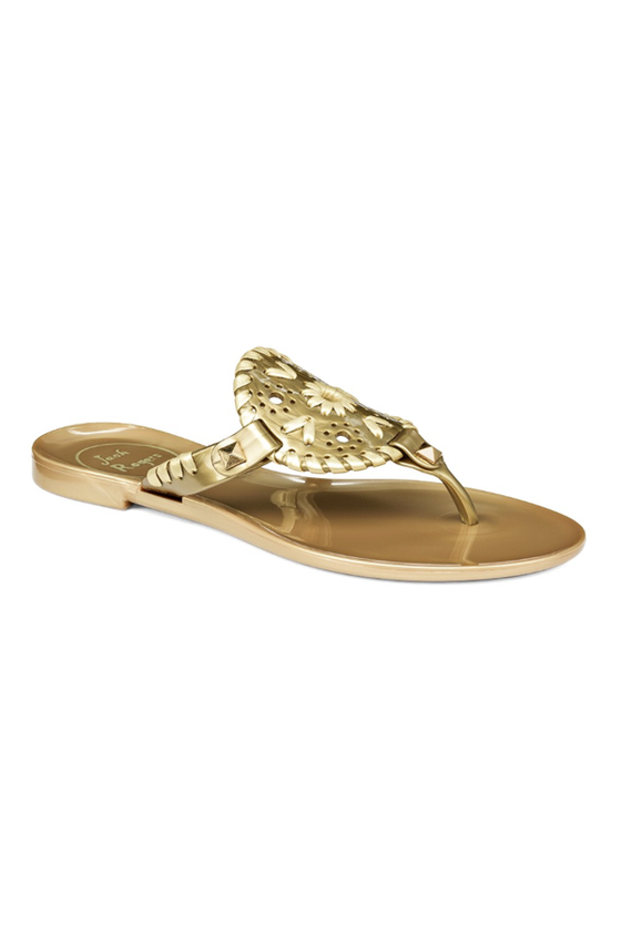Miss Sparkle Georgica Jelly Sandal - Gold