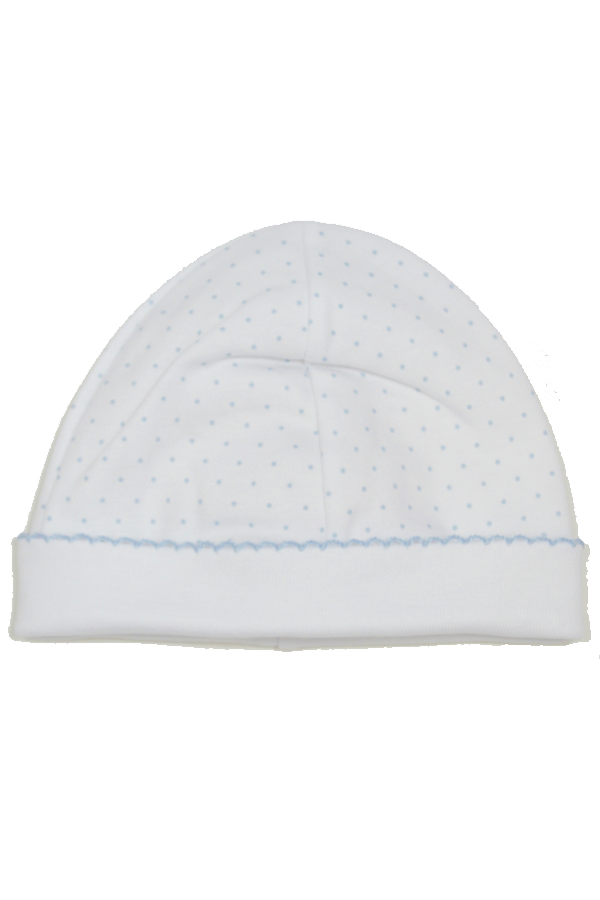 Dot Print Hat - Blue