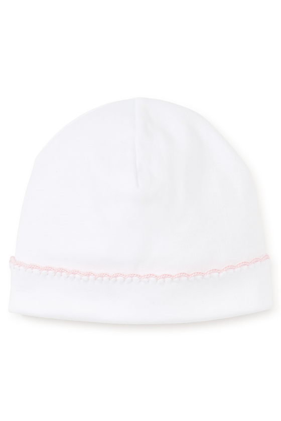 Premier Basics Hat - White and Pink