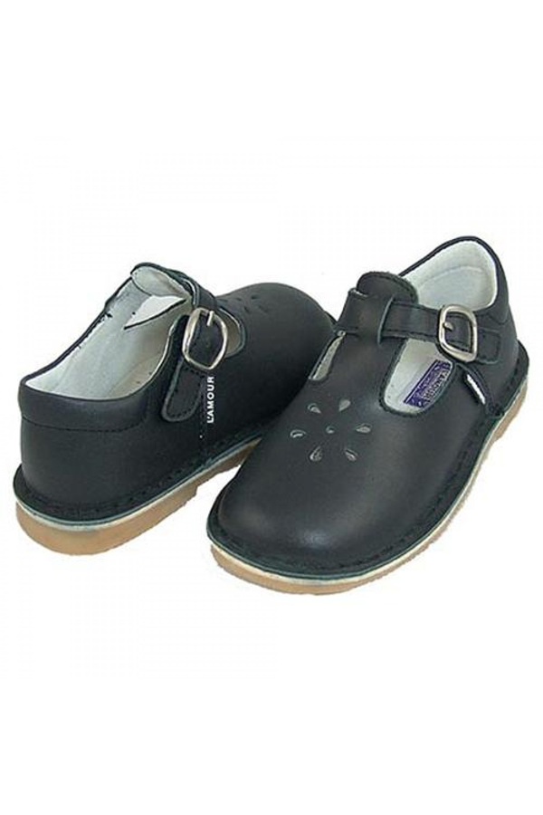 T-Strap Mary Jane Black