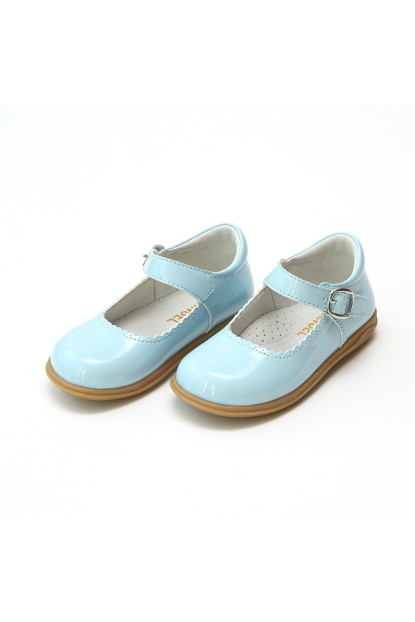 Sky Blue Patent Mary Jane