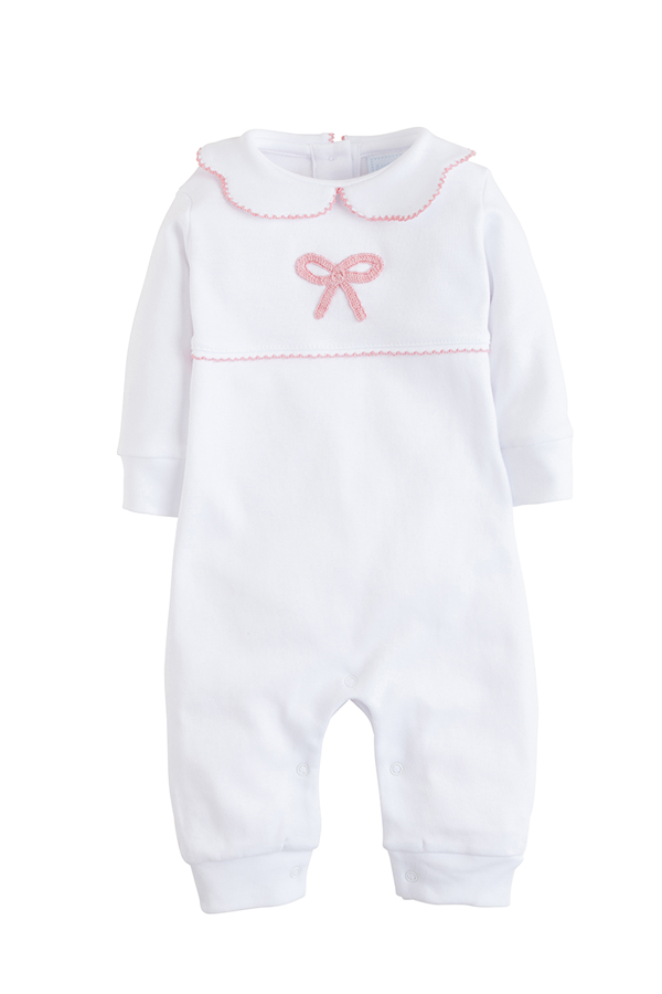 Layette Bow Playsuit