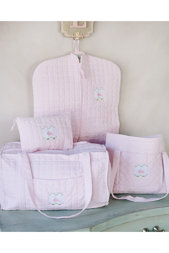Bunny Quilted Luggage