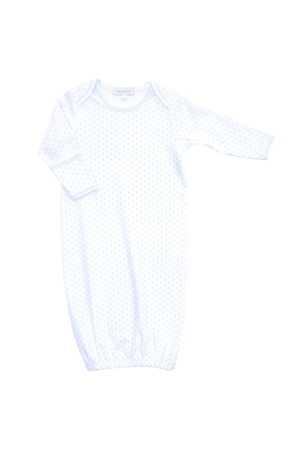 Magnolia Baby Unisex Baby MB Essentials Smocked Gown Solid White