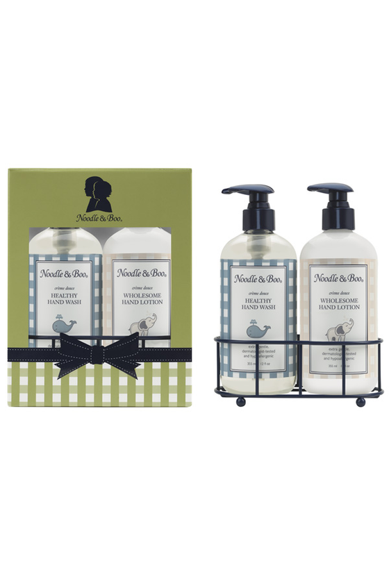 Healthy Hand Wash and Wholesome Hand Lotion Caddy Gift Set