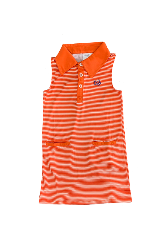 Gameday Dress - Orange