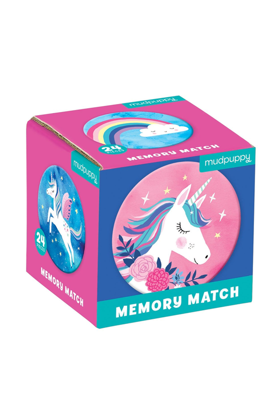 Unicorn Magic Mini Memory Match Game