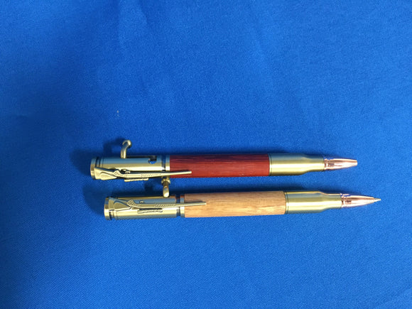 Bolt-Action Pen Made by Ron Bruner