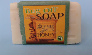 Bug Off Soap made by Summer Smiles Honey Farm