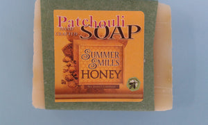 Patchouli Soap - Made by Summer Smiles Honey Farm