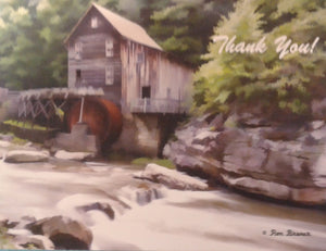"Beautiful Photo ""Thank You"" cards by Ron Bruner"