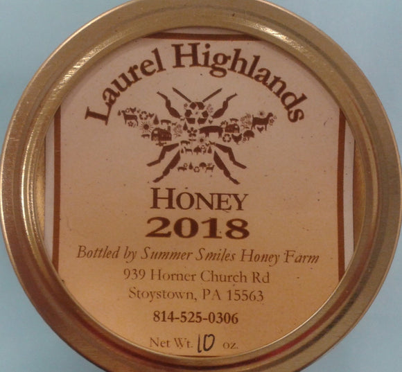 Summer Smiles Fresh Raw Honey 1/2 pints - Summer Smiles Honey Farm