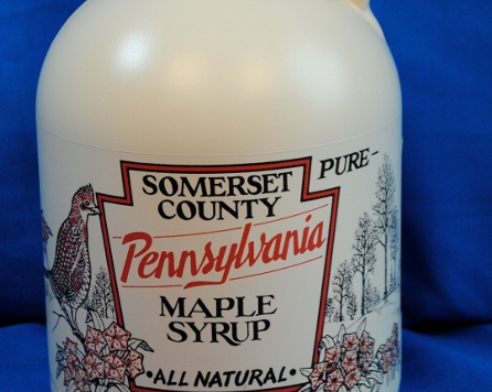 Maple Syrup in Plastic Container - Quart Grade A - Baer Brothers Maple