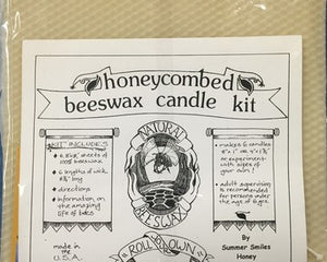 Beeswax Candle Making Kit made by Summer Smiles Honey Farm