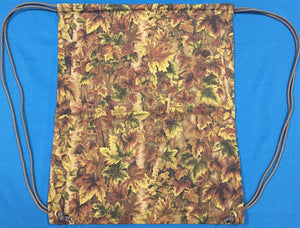 Fall Foliage Drawstring Gym Bag made by Brenneman's Quilt & Sew