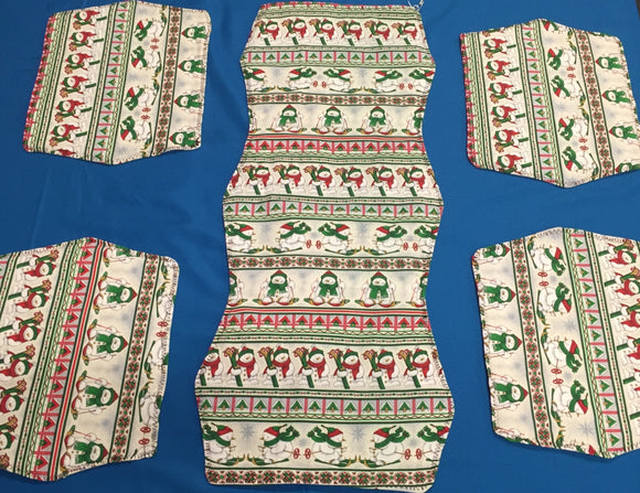 Holiday Table Runner & Placemat Set - made by Brenneman's Quilt & Sew