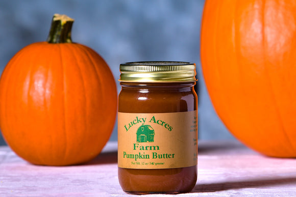 Pumpkin Butter 12 oz. - Lucky Acres Farm