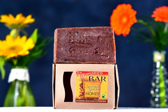 Harvest Bar Soap made by Summer Smiles Honey Farm