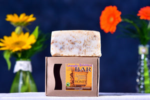 Lavender Botanical Soap made by Summer Smiles Honey