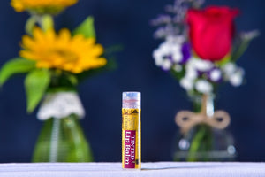 Tints Lip Balm made by Summer Smiles Honey Farm