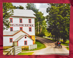 "Photo of ""Compton's Mill"" on Foam Core Photographed by Carol Saylor"