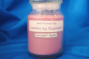 Caramel Apple 24 oz. Soy Jar Candle - Stephanie Randall