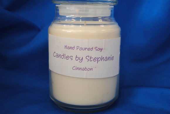 Cinnabon 24 oz. Soy Jar Candle - Stephanie Randall