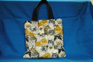Crayon Tote Bag - Kitty - Millers Wood & Fabric Crafts